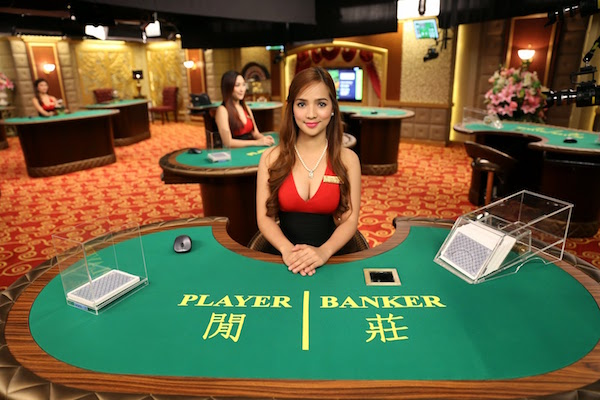 Baccarat with live dealers at live casino. Rules and special features
